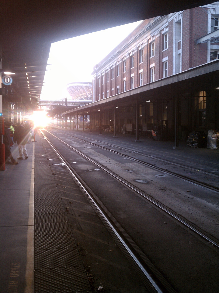 King Street Station, Looking South