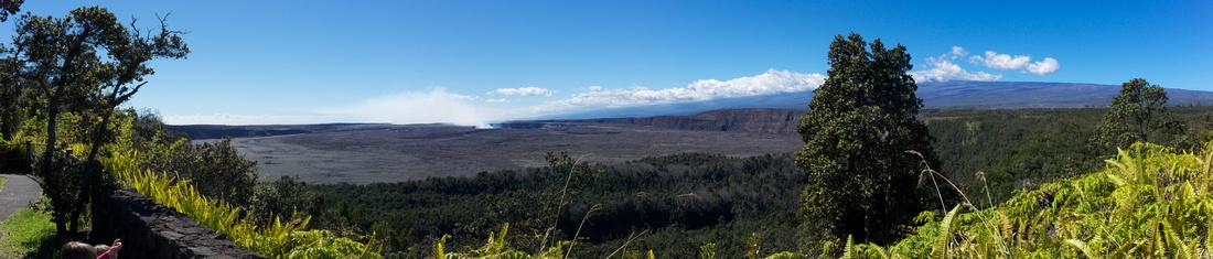 Kilauea Caldera - Panorama